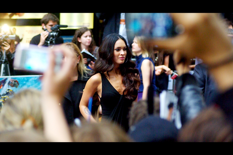 I'm still not entirely convinced Megan Fox is a good actress, but I am one hundred percent certain that most guys do not care. And her interviews are generally brilliant to listen to, so it's a rare case of liking the actress more than the characters.  (And that's as good a pickup line as I'm capable of, ladies...)