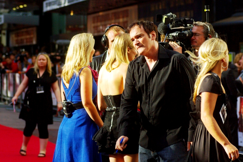 Tarantino's next film genre? Some circumstantial evidence points to 'zombie epic'.