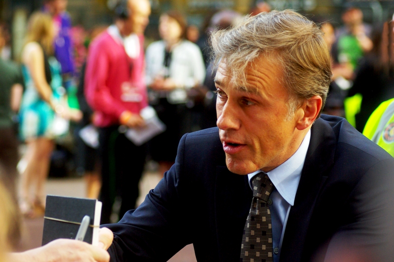 """""""You were snubbed by Quentin Tarantino too? Well, if it helps I can sign this as Quentin if you like!"""" . Christoph Waltz seems like a nice guy, although I decided not to take him up on his offer of a forged signature. (Me in 2014: A pity.. he's won two Oscars since then and it would be quite the unique memento...)"""