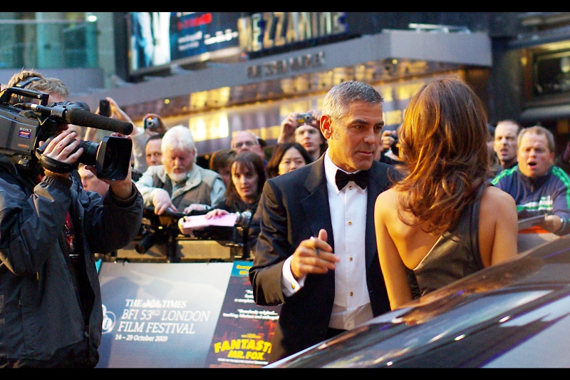George Clooney has won an Oscar *and* portrayed Batman on screen. (But those two facts are not related)