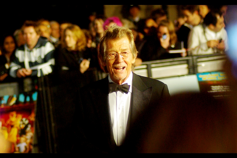 Finally, here is everyone's favourite paranoid megalomaniacal xenophobic dictator, from the film 'V for Vendetta' it's clearly John Hurt! (He also, IMDB informs me, played wand-maker Ollivander in the first Harry Potter film, a much more benign role)