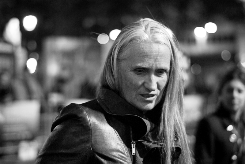 """Looking rather awesomely like an older version of Kadaj from Final Fantasy Advent Children (and that's possibly the most obscure movie reference you will ever hear me make), this is Director Jane Campion - who won an Academy Award (TM) for best screenplay for """"The Piano"""" in 1994 (as well as a Best Director nomination that same year)"""