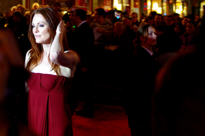 Actress Julianne Moore has been nominated for no less than four Academy Awards (tm) but is sadly yet to win one. She was in the sequel to Jurassic Park, though!