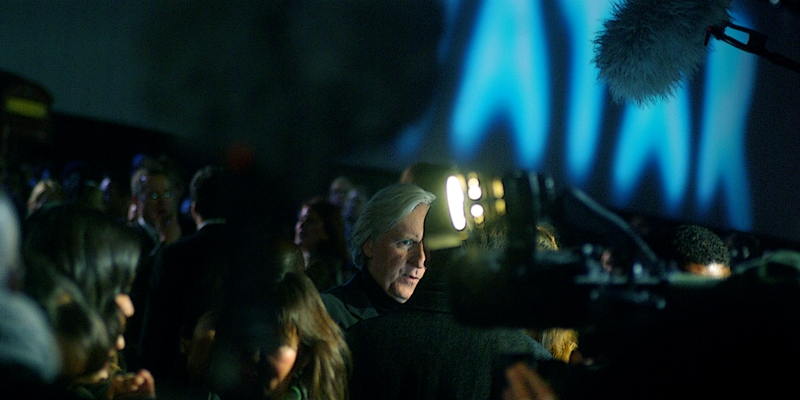 James Cameron was the first person to make an R-rated movie budgeted at over $US100million (Terminator2); and then the first person to make a movie budgeted at over $US200million (Titanic); and now the first person to make a movie with a budget of over $US300million. ...It's like playing double-or-nothing when you're WINNING