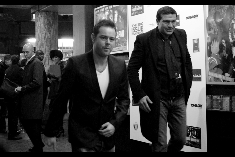 How cool are Danny Dyer and Tamer Hassan? Baby, didn't you _see_ how Dyer flicks a cigarette above? It's positively  *John-Travolta-in-Broken-Arrow-esque Awesome*