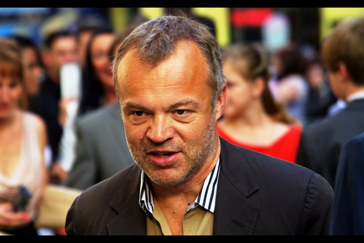 Most people were suggesting that Cameron Diaz was unlikely to show because she was doing an interview with Graham Norton. Well.... sure. And that would make sense, except this IS Graham Norton!
