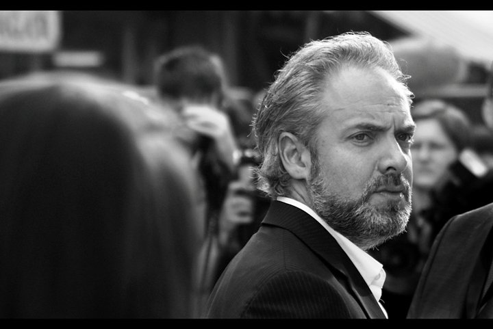 """This may come as a shock, but this movie did have one attendee I was genuinely pleased to see (ie. photograph). He's legitimately famous - director Sam Mendes, who directed and won an Oscar for """"American Beauty"""" and is apparently directing the next James Bond film. Though, again, it needs to be asked : what's his connection to Shrek : The Musical. I probably have more of a connection, having watched all four films (the last two were rubbish...)"""