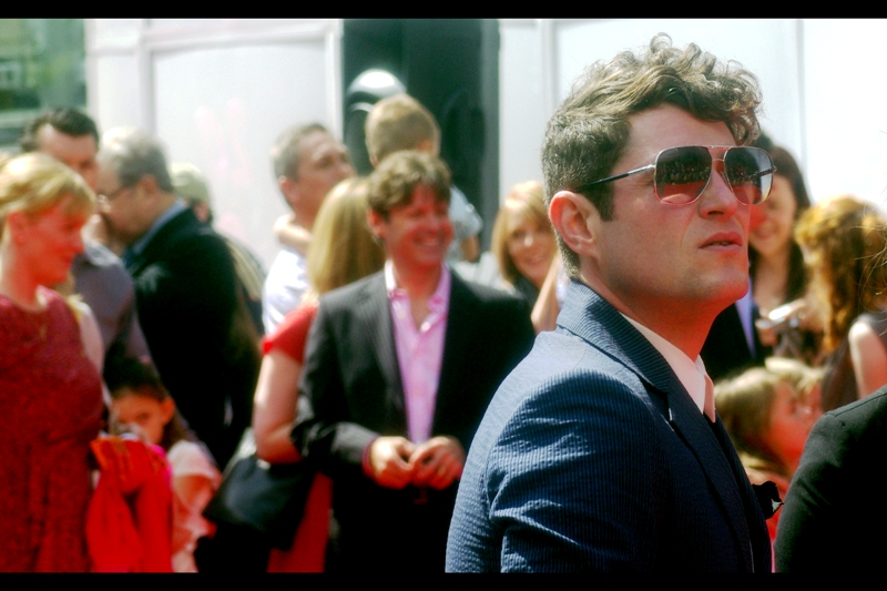 "Matthew Horne is/was Gavin in ""Gavin & Stacey"". And he also wears cool sunglasses."