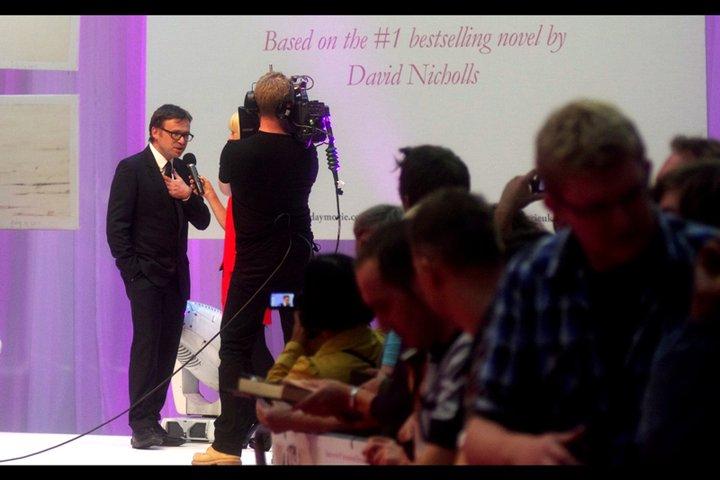 """""""Hi, my name is David Nicholls"""" """"Name doesn't ring a bell, I'm sorry"""" """"Ummm....?""""  Awkward."""