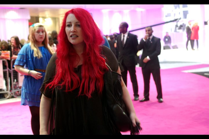 Jane Goldman is married to broadcaster/comedian Jonathan Ross. However, as I don't find him particularly funny I'm more impressed by her : among other things she was one of the screenwriters of the movie Kick-Ass. (Woo!)