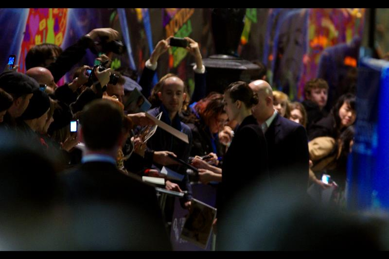 OH, look. In the far distance, Emperor Palpatine is signing war decrees in another part of the crowd.