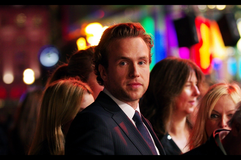 This is Rafe Spall, who plays William Shakespeare in the film. I have nothing to add. I mean, it's not like I can congratulate him on the enduring popularity of his plays, which (according to the film) he may or may not even have written