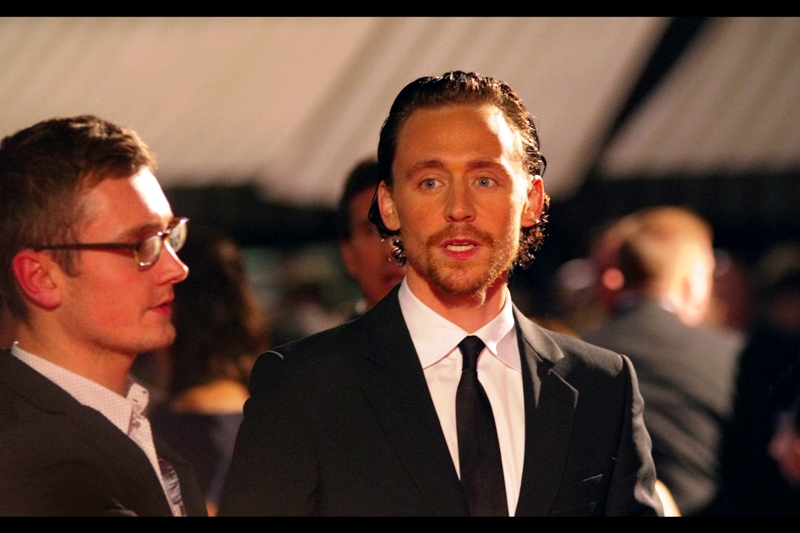 Tom Hiddleston is awesome, I have been told... and repeatedly reminded. (... is hopefully not what's occupying his nervous thoughts right now...)