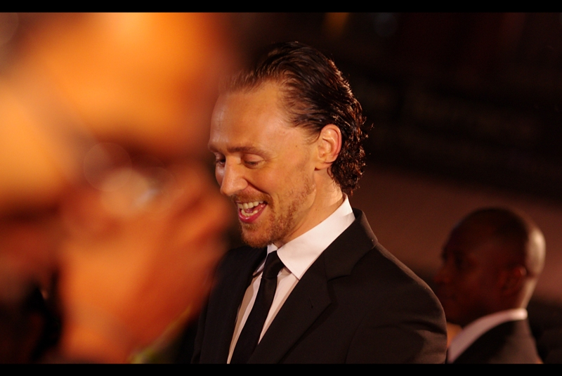 """""""Sure I'll sign this Hammer.... I'll sign your ratchets, screwdrivers and allen keys too"""".  Tom Hiddleston is a true gentleman."""
