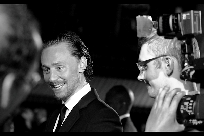 """Good news for fans of Tom Hiddleston and the possibility of him attending future premieres : he's in (1) Steven Spielberg's """"War Horse"""" and (2) will play in the upcoming  Happy Meal, Comic tie-in. Action Figure Range, Colouring-In Book and possibly a movie  called """"Avengers"""" next year!"""