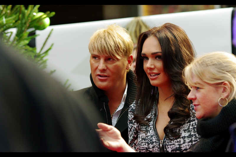 """Random celebs also made their way down the narrow red carpet. And, sure, you might be thinking  """"yes, she's generically pretty. what TV show is she in?""""  you'd be wrong. She's Tamara Ecclestone, daughter of F1 Boss Bernie. He's worth about a billion dollars/ pounds. Basically, name your currency, and it's a billion in that currency."""