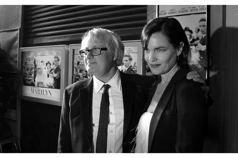 Director Simon Curtis and his wife Elizabeth McGovern show up (?She was in Kick-Ass? and ?Clash of the Titans?) (I'm confused - I've never heard of him, and I don't recognise her from either of the two memorable movies she's been in). (Damn 'Clash of the Titans' sucked...)