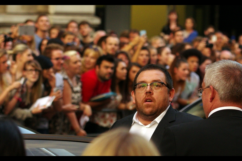 Nick Frost, Actor. Co-Winner of a *Comedians* award with Simon Pegg and Edgar Wright