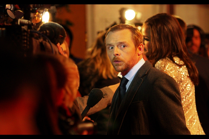 Simon Pegg, looking quirkily awesome (II)