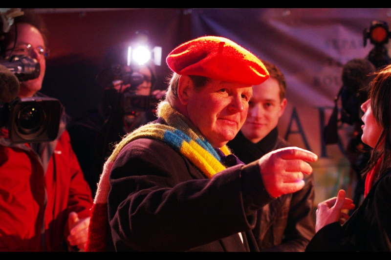 Meanwhile, Michael Morpurgo's beret continues its plan to take over the world. If successful, Michael Morpurgo's scarf will be given administrative control over Australia.