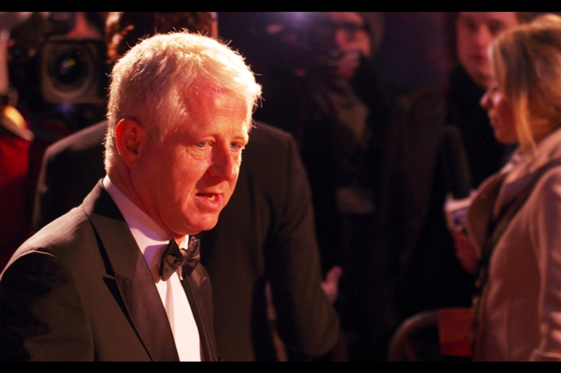 Richard Curtis is normally a director ('Love Actually', 'The Boat That Rocked') - but he wrote the screenplay for this film (and 'Notting Hill', among other things). Still, gives you an idea of the kind of pull Spielberg has. The Wachowski brothers might even be runners on the set of a Spielberg movie if he wants them to.