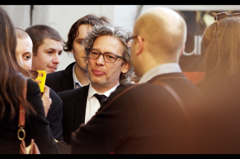 "As little as two premieres ago I was still asking the question ""  Who is Dexter Fletcher and why is he always at premieres for films he's not involved in?  "" but in this instance he's actually the director of This Very Film. Well done, sir!"