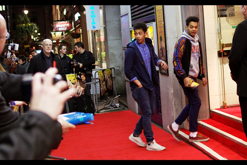 "Unlike many in the crowd, I was in the rare position of actually knowing who Rizzle Kicks are! (that's right... Tamar Rizzle and Judo Kicks : together they are : Rizzle Kicks)  (fine... I made that up. But ""down with the trumpets"" is still a cool tune)"