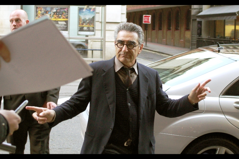 Eugene Levy (The Dad) has done fairly well for himself since his scenes in Ghostbusters II were cruelly deleted from the final theatrical cut back in 1989(thanks, IMDB!).