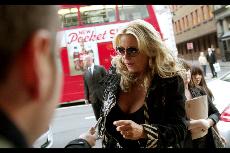 "Jennifer Coolidge (aka. ""Stifler's Mom"") has received as many Academy Award nominations as I have, but I've been in less movies. Then again... I don't look this stylish, sunglasses or no."