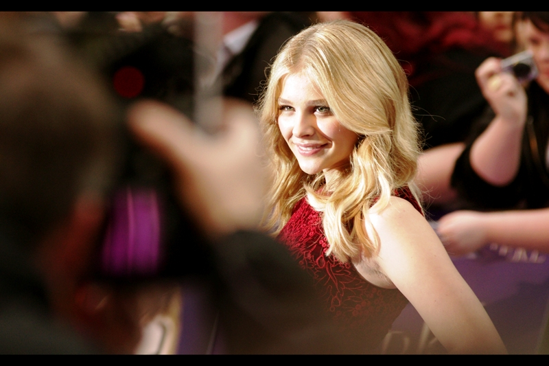 Chloe Moretz may have grown up further since I last photographed her a few minutes ago.