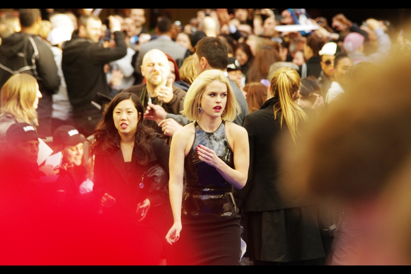 """Actress Alice Eve plays the enigmatically named """"Young Agent O"""" in the film. She's been in a few movies I either haven't heard of or seen (they made a 'Sex in the City 2'??) , but she was Vinnie Chase's final girlfriend in the TV series """"Entourage"""". And that IS cool."""