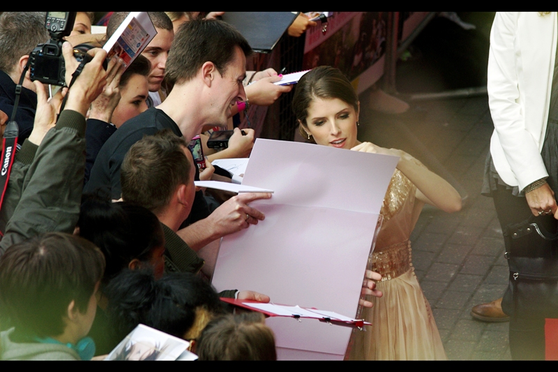"""I'm pretty sure I never posed for a centrefold.... oh. Okay. My mistake. Sure, I'll sign"""