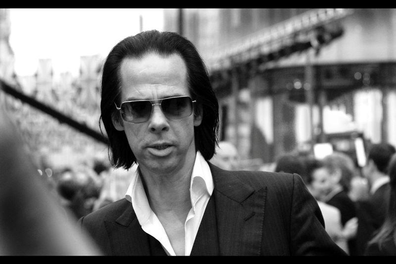 Nick Cave? I don't know. He has no apparent connection with this film. Though a suitably depressing Closing Credits Warble could be on the cards..