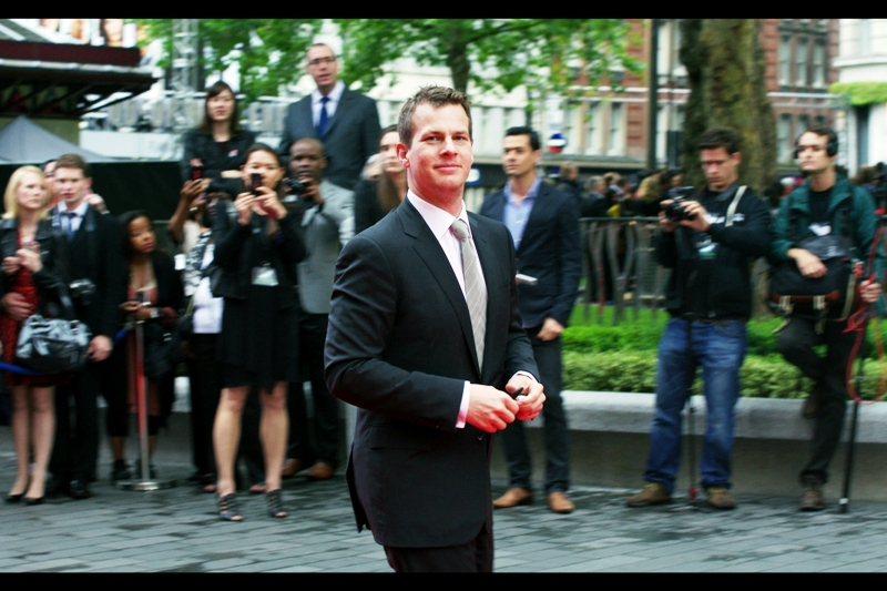 Jonathan Nolan. He's not Chris Nolan, but he's still very cool (I hope there's no sibling rivalry there...)