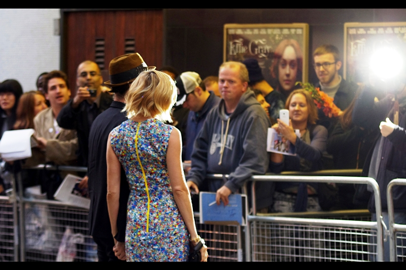 Excitingly, we have new arrivals : Tom Sturrdige on the left is in this film, but as his wife is (a) Sienna Miller who is (b) even prettier and (c) whom I've never photographed, I think I'll prioritise accordingly. Also, if your spine is this shape when you're standing up straight, please see a chiropractor.