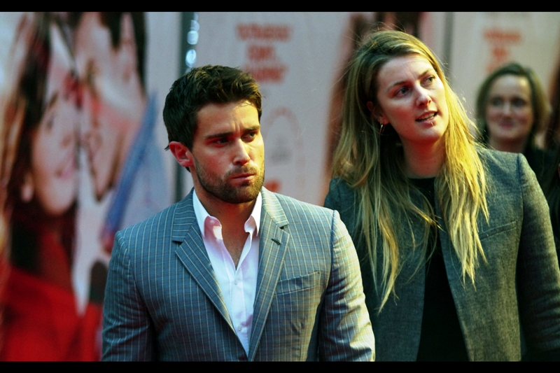 I'm not entirely sure whether this is actor Christian Cooke, who is in this film... but I'm loving the symmetrical way the tie-less shirt is unbuttoned on that pinstripe suit... in the absence of anything else to add for a comment at this time.