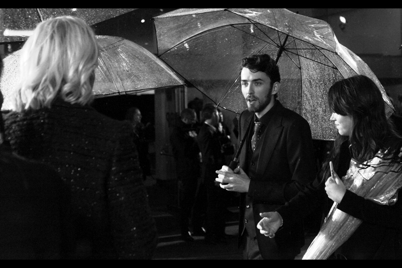 """Is this where I can buy Maltesers and Choc-tops?""  Matthew Beard, who appropriately enough elected not to come to this event clean-shaven, plays the role of Peter Hilton in the film. He was also in 'An Education (2009)' with Carey Mulligan. That was a great film... the female genre equivalent to, say Terminator 2."