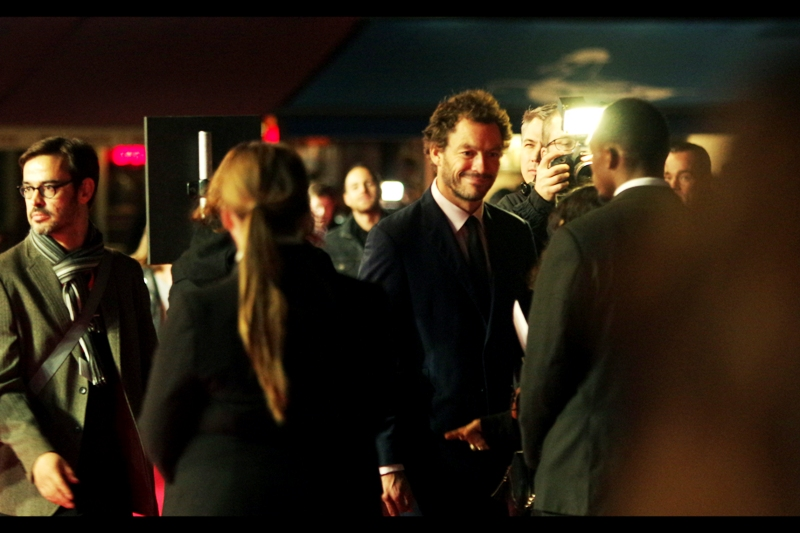 Our final arrival from the film is sadly not the very pretty Alicia Vikander, but the rather more masculine-looking (and coincidentally male) Dominic West, arguably best known for his roles in '300', 'The Wire' and 'John Carter'