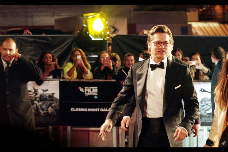 Brad Pitt brings us home at  the Closing Gala premiere of Fury