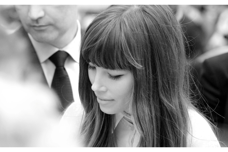 Jessica Biel in dreamy-cam-vision style. That said, I'm also weirdly pleased with the crop on the security dude's face