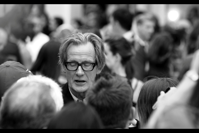 """""""Don't do drugs, kids. Also, don't drink alcohol. Try not to swear. And stay off the internet after 10pm. And eat broccoli. And don't frikkin question my hairstyle""""  Invaluable life advice from Bill Nighy"""