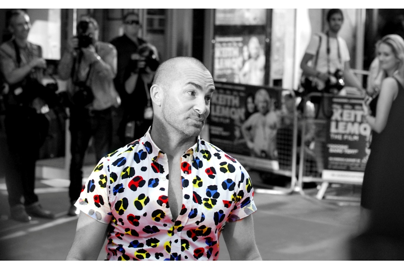 "Louie Spence is a talented dancer and a nice guy. He can get away with colour at this otherwise sombre, ""classy"" event."