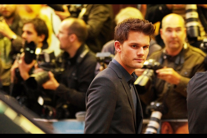 """Jeremy Irvine was the non-equine lead in Steven Spielberg's """"War Horse"""" (unless you're a fan of Tom Hiddleston in which case Irvine was presumably a distraction),  which I was at the premiere of.  Irvine is in this film, and his hair is fantastic."""