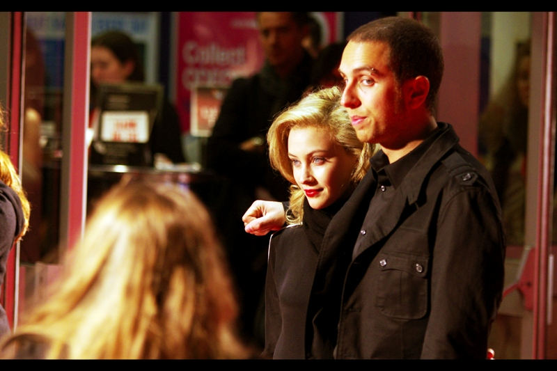 Brandon Cronenberg suspects I'm not being coolly smooth enough about my obvious attraction to Sarah Gadon. He may be right.