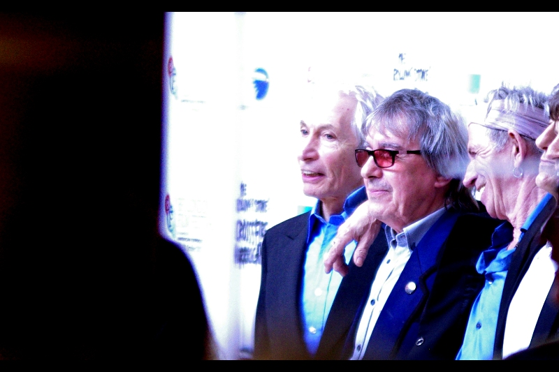 Charlie Watts and Bill Wyman. (Isn't it past their bedtime?)