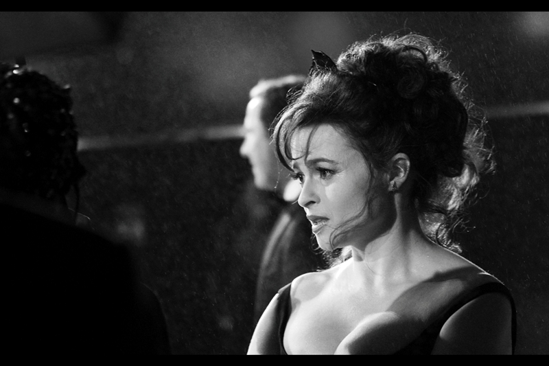 Helena Bonham Carter is sad that London Film Festival is over. Me too, sort of. But only if I forget that getting decent sleep is important for a balanced lifestyle. I say that also realising that the next premiere after this one is for James Bond SKYFALL in just two days. But whatever...