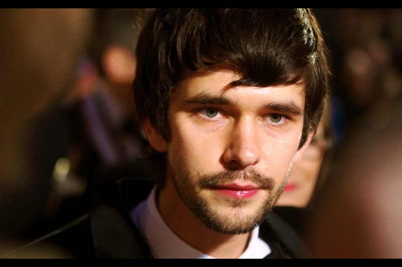 "Of all the cast, crew, and visiting dignitaries, it was Ben Whishaw who came over to us, kind of like ""what're you guys doing over here?"". And we're like....  James Bond premiere. ... you?"