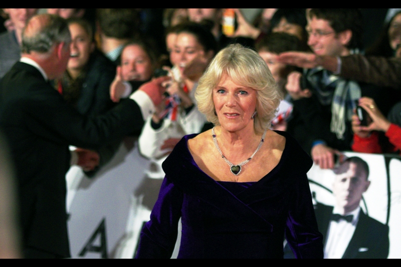 It's the Duchess of Cornwall. (Wait… didn't the old lady throw that necklace into the ocean at the end of Titanic??)