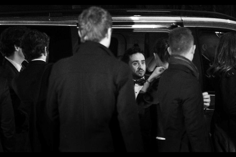 Director Juan Antonio Bayona, wondering why suddenly everyone got taller than he did.