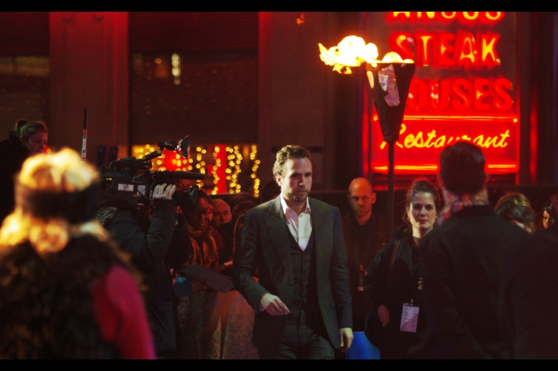 "The first arrival is Rafe Spall, son of Timothy ('Wormtail' in Harry Potter) Spall, though with a decent role in this and  ""Prometheus""  I might have to refer to Timothy Spall differently. And good news for the Angus Steak House, their numerous signs featured prominently in photos taken during the evening."